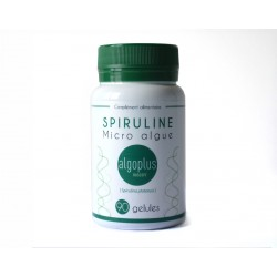 Complément alimentaire spiruline (90 gélules)