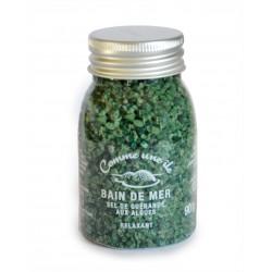 Bain de mer vert au sel de Guérande aux algues 90 g