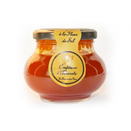 Confiture d'Abricots parfumée à la Fleur de Sel 275 g
