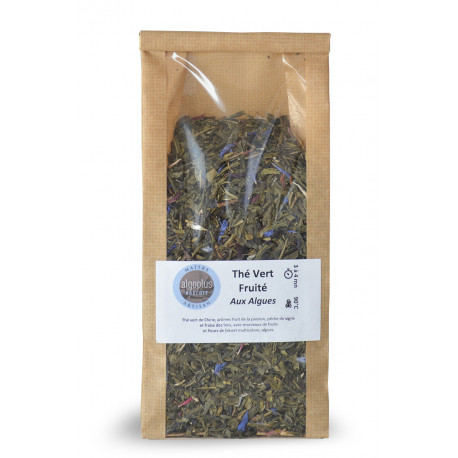 Thé Vert Fruité aux Algues 100 g