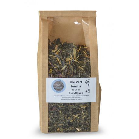 Thé Vert Sencha de Chine Aux Algues 100 g