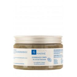 Gommage corps Passion Marine Bio au sel de Guerande et aux paillettes d'algues 250ml