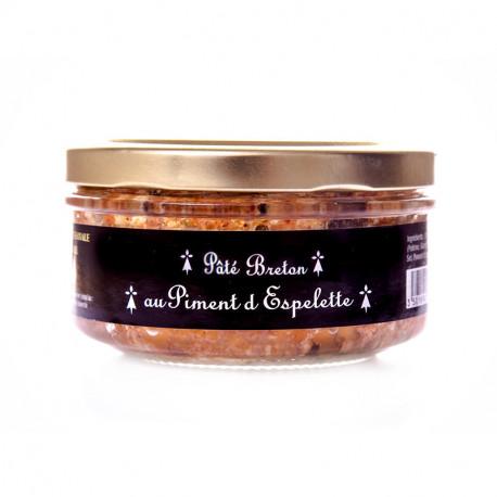 Pâté Breton au piment d'Espelette