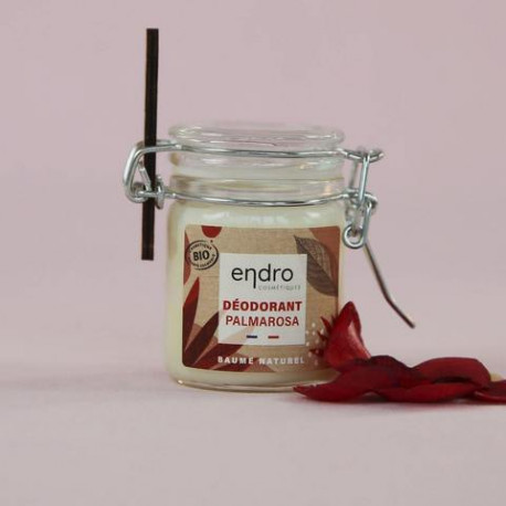 Déodorant Endro baume naturel Palmarosa-Géranium