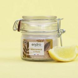 Dentifrice Endro en pâte Naturelle zeste citronné 150g