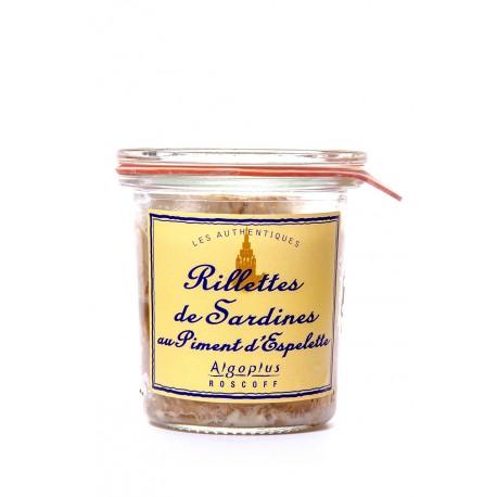Rillettes de Sardines au Piment d'Espelette 100 g