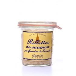 Rillettes de saumon parfumées à l'aneth 105 g